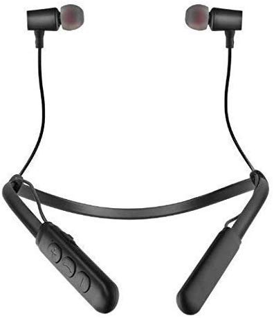 odestro® Bluetooth Wireless Headphones Sport Stereo Headsets Hands-Free with Microphone and Neckband for Android and iOS Devices (Multi Colored)