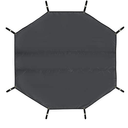 REDCAMP グランドシート テントシート 六角形 防水 軽量 5人用 コンパクト ワンポールテント用 収納バッグ付き アウトドア キャンプ 登山 ピクニック