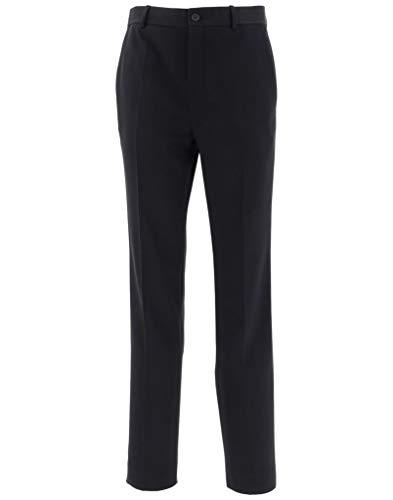 Balenciaga Luxury Fashion Herren 556705TDT051000 Schwarz Elastan Hose | Jahreszeit Outlet