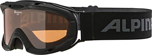 ALPINA RUBY S Skibrille, Kinder, black, one size