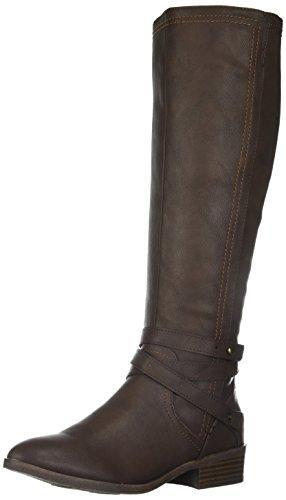 Fergalicious Women's Lennin Riding Boot, brown, 7.5 M US