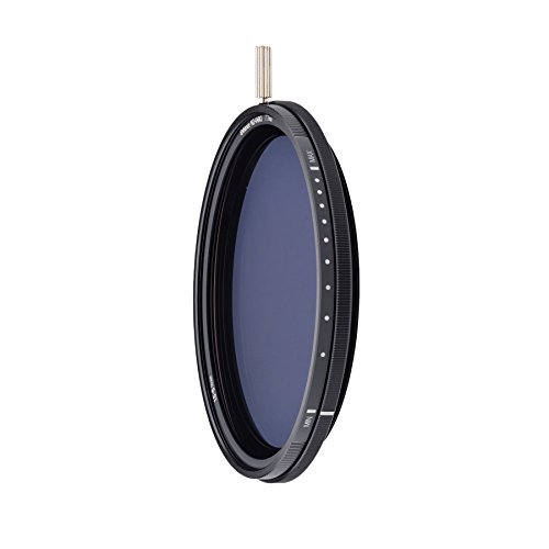 NiSi 可変NDフィルター VARIO 1.5~5 stops (ND3~32) 82mm