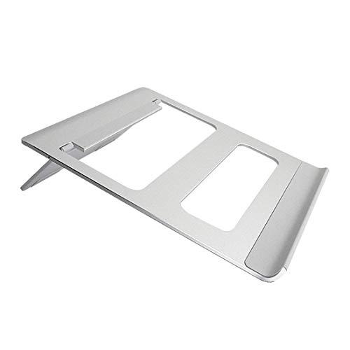 LLSS Support d'ordinateur Portable en Alliage d'aluminium Base de Refroidissement Pliante Support de Levage Universel Support de Bureau Portable Simple-Argent