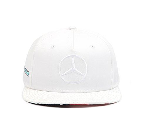 Gorra Mercedes AMG Oficial 2017 Lewis Hamilton 'GP EE.UU.'