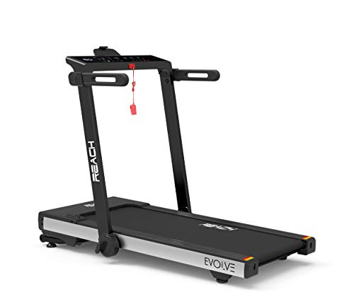 Reach Evolve Treadmill (5Hp Peak) 90 Degree Foldable Treadmill Machine for Exercise at Home Gym...