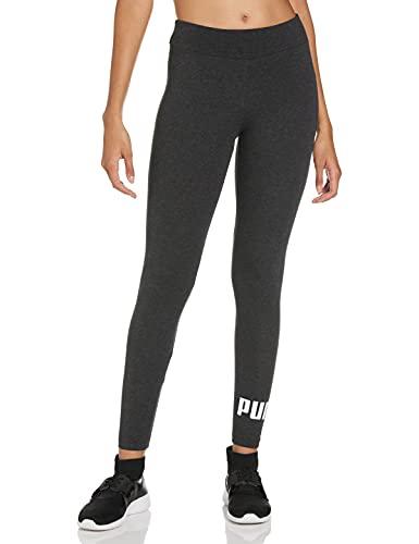 Puma Damen Leggings, Dark Gray Heather, S