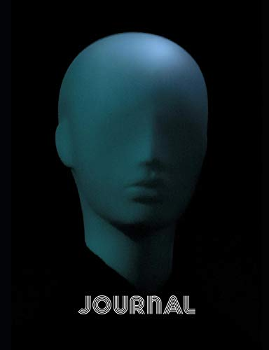 Journal: What Do Aliens Look Like? 7.44 x 9.69 in 100 pages college ruled lined