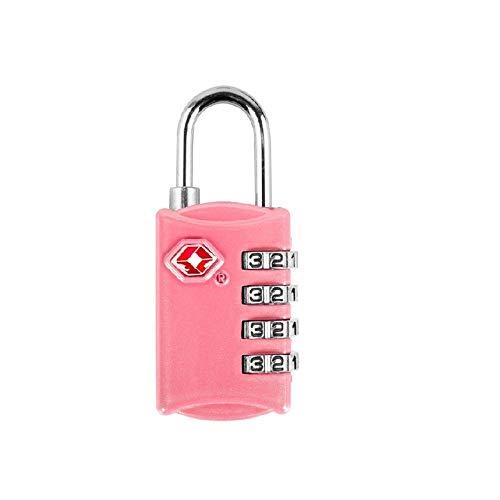 Gangkun Color digitale wachtwoord lock reizen goederen reizen goederen tsa douaneslot hangslot tsa309 douane multifunctionele vier zwart, roze