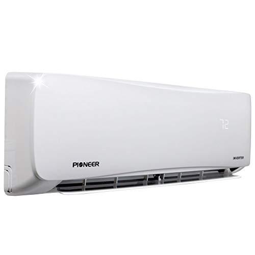 Pioneer Air Conditioner WYS012A-19 Wall Mount Ductless Inverter+ Mini Split Heat Pump, 12000 BTU-110/120V, White