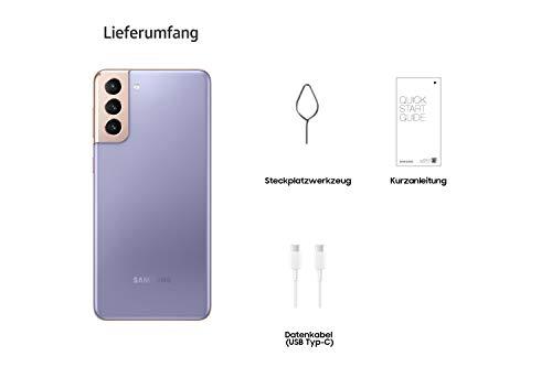 Samsung Galaxy S21+ 5G, Android Smartphone ohne Vertrag, Triple-Kamera, Infinity-O Display, 128 GB Speicher, leistungsstarker Akku, Phantom Violet - 6