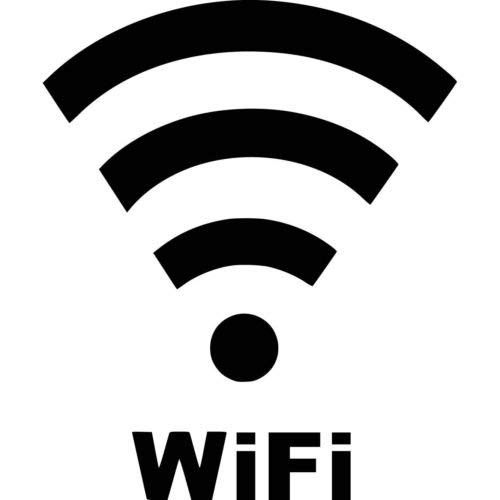 Ranger Products WiFi Vinyl Decal Window Wall Laptop Car Truck Boat, Die Cut Vinyl Decal for Windows, Cars, Trucks, Tool Boxes, laptops, MacBook - virtually Any Hard, Smooth Surface