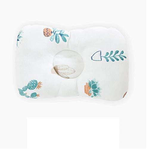 Ouken 1pcs Baby-Kissen Neugeborenes Kopfschutz Kissen Baby-Bettwäsche-Baby-Stillkissen-Schlaf-Stellwerk Prevent Flat Head