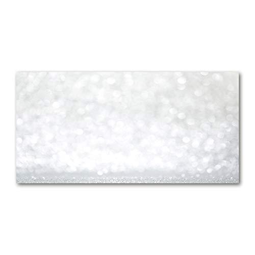 Tulup Acrylglas - Wandkunst - Bild auf Plexiglas Deko Wandbild hinter Kunststoff/Acrylglas Bild - Dekorative Wand für Küche & Wohnzimmer 100 x50 cm - Kunst: modern & klassisch - Tand - Silber