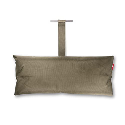 Fatboy® Headdemock Pillow Taupe | Hängematten-Kissen | Gemütliches Polyester Hängematten-Kissen | 70 x 30 x 13 cm