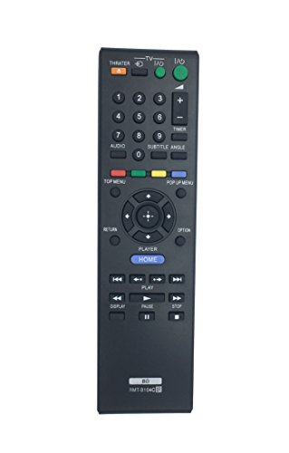 Replaced RMTB104C RMT-B104C Remote Control for Sony BD BLU-RAY DISC Players BDP-S770 BDP-S360 BDP-B104A BDP-B104P BDP-S360HP BDP-S185 BDP-S190 BDP-S270 BDP-S300 BDP-S350 BDP-S370 BDP-S380