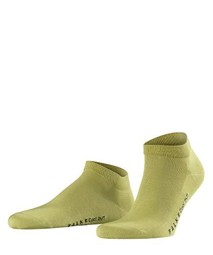 FALKE Herren Sneakersocken Cool 24/7, 80% Baumwolle, 1 Paar, Grün (Lime 7126), Größe: 39-40