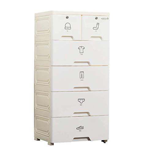 1yess Artículos Diversos de Acabado del gabinete, Dormitorio Aumentar el Colorido de bebé de plástico Caja de Juguetes de baño de Almacenamiento Locker, 48 * 38 * 101 cm (Color: 1) (Color : 3)