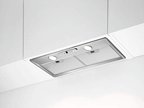 Groupe filtrant Electrolux LFG517X - Hotte aspirante Intégrable - largeur 70 cm - Débit d'air maximum (en m3/h) : 600 - Niveau sonore Décibel mini. / maxi. (en dBA) : 46 / 63