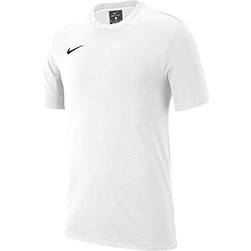 T-Shirt Nike Team Club 19 Enfant Unisexe Blanc/Noir Taille L (12-13Ans)