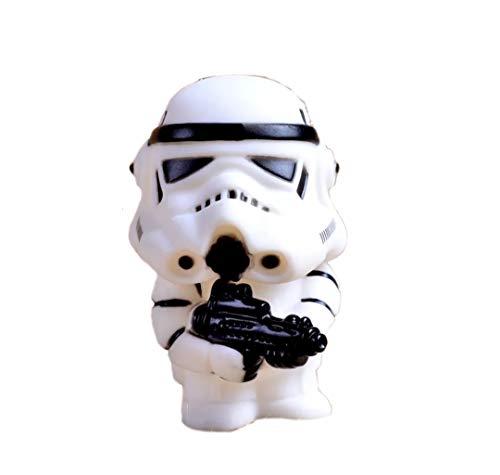 Storm Trooper come portachiavi – Accessorio in gomma rigida per portachiavi o zaino – ideale per gli appassionati di Star Wars e come regalo
