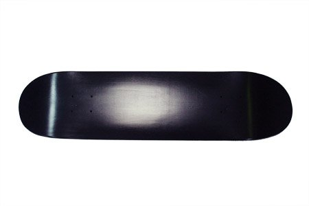 "SCSK8 Black Dipped 8"" Skateboard Blank Deck"