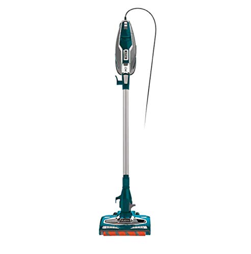 Shark Rocket DuoClean Ultra-Light Corded Bagless Carpet and Hard Floor with Hand Vacuum, Blue (Renewed)
