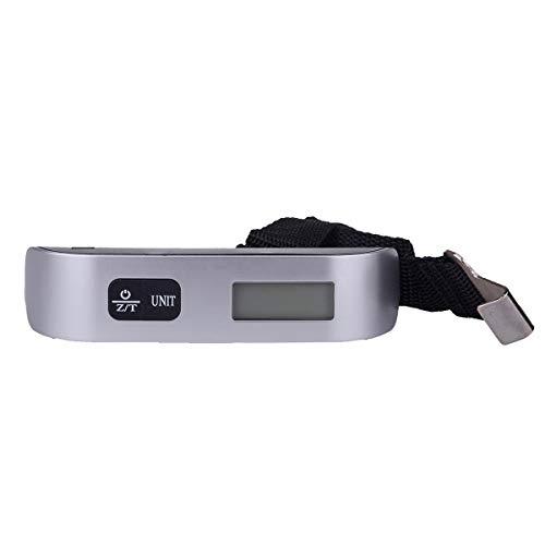 Borlai T-vorm draagbare digitale elektronische reiskoffer bagage die weegschaal 50 kg hangt.