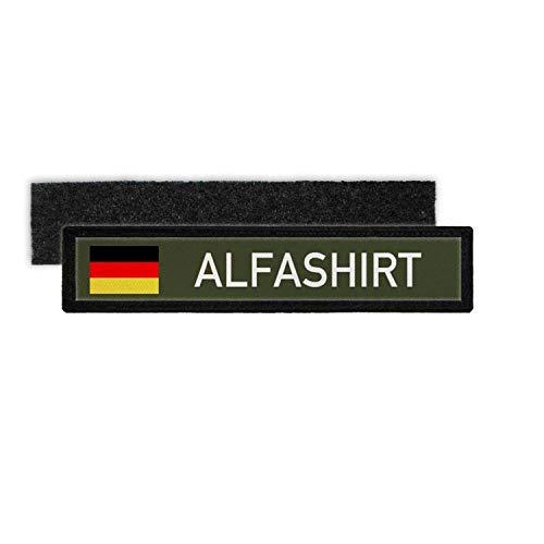 Copytec Duitsland ALFASHIRT Patch Alphashirt naambord druk T-shirt merk #25199