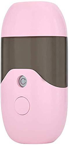 miwaimao Pequeña unidad de aire acondicionado portátil portátil USB 50ML difusor de aroma esencial humidificador de aire purificador de aire, rosa