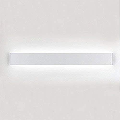 Lámpara de Espejo Baño LED 20W 61cm 1600LM Luz Blanca 6000K LED Armario Lámpara Luz de Pared IP44 Aplique de Baño Inoxidable