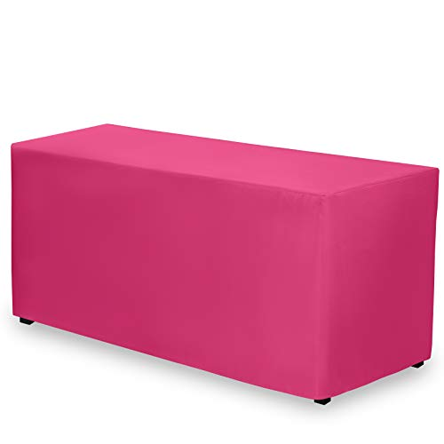 hot pink table cover - 6