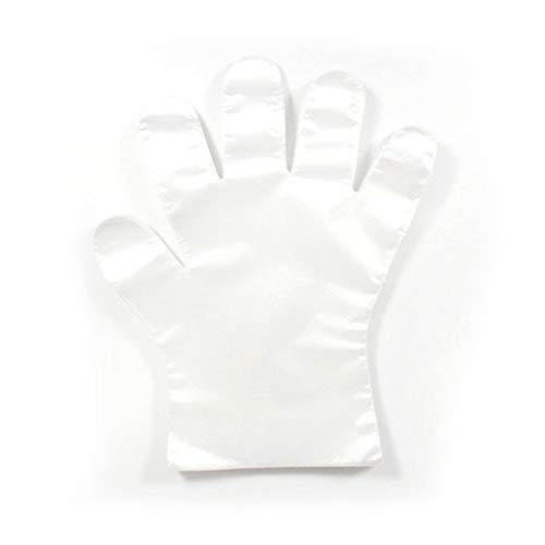Bosi General Merchandise 100 Stück/Satz Dicke Einweghandschuhe, umweltfreundliche, durchsichtige Kunststofffolie für Kinder, geeignet für 412 Jahre Years