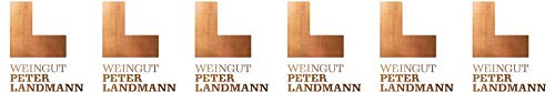 Peter Landmann PET NAT Pétillant Naturel Brut nature (naturherb) Bioland Bio (6 x 0.75 l)