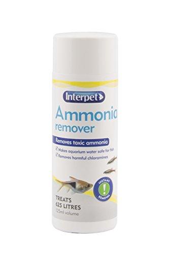 Interpet Aquarium Fish Tank Ammonia Remover, Removes Chloramine, 125 ml, Treats 625 Litre of Aquarium Water