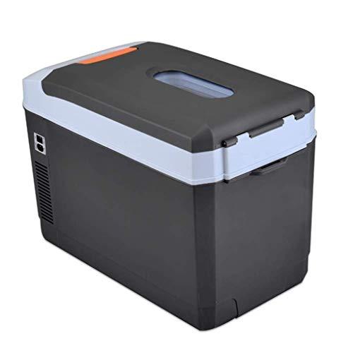 WXQ-XQ Refrigerator 25l Portable Car Refrigerator, Dual-core Refrigeration/Mini Insulin Cooler -12v/24v Dc / 220v Ac for Trucks, Travel, Medicine (Size: 53 28 36cm / 21 11 14inch) Car refriger