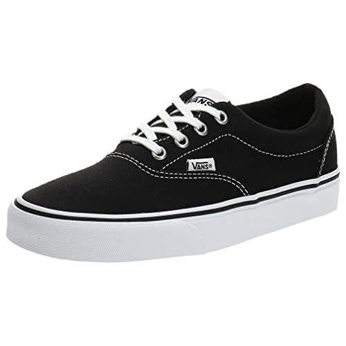 Vans Doheny, Sneaker Donna, Nero ((Canvas) Black/White 187), 37 EU
