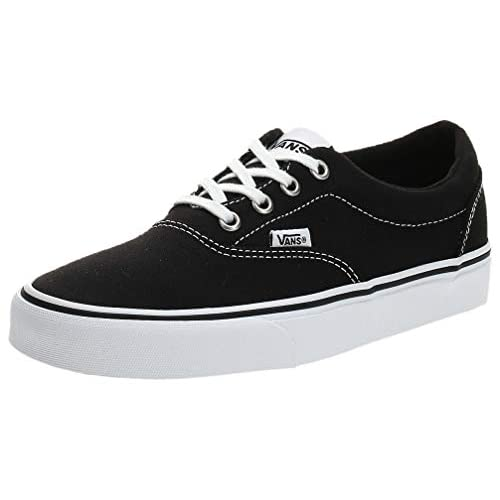 Vans Doheny, Sneaker Donna, Nero ((Canvas) Black/White 187), 38 EU