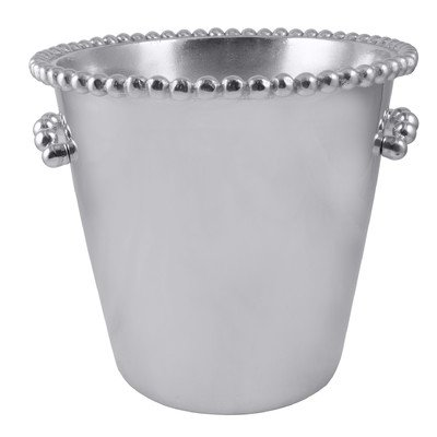 MARIPOSA Pearled Individual Ice Bucket, Silver
