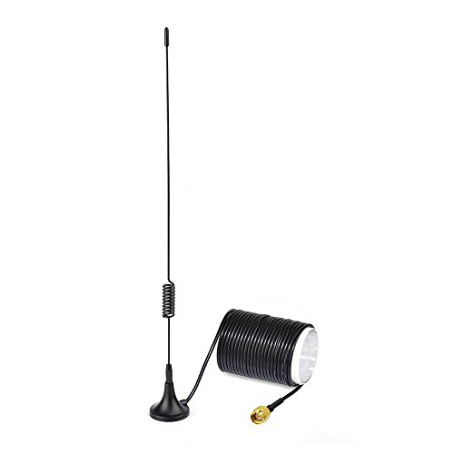 Eightwood 868 MHz Antenne SMA Antenne mit 5m SMA Verlängerung für Homematic CCU3 CCU2 Raspberry Pi HM MOD RPI PCB Bausatz Fibaro ELV Bausatz RaspberryMatic PiVCCU MEHRWEG