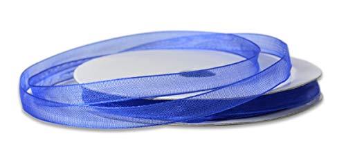 VBS Ruban Organza, 6 mm Bleu
