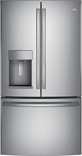 GE GFS26GSNSS 36 Inch Stainless Steel French Door Refrigerator (Stainless Steel)
