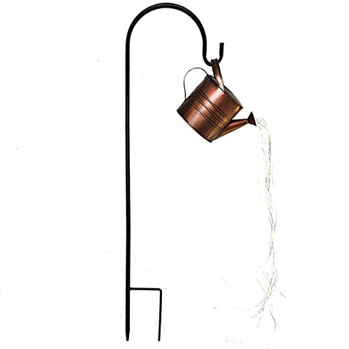 Cadena de luces de cadena de luces para jardín, jardín, patio, patio, festón, interior y exterior