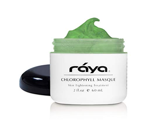 RAYA Chlorophyll Masque (607) | Tightening Facial Treatment Mask for All Skin | Helps Reduce Fine Lines and Wrinkles