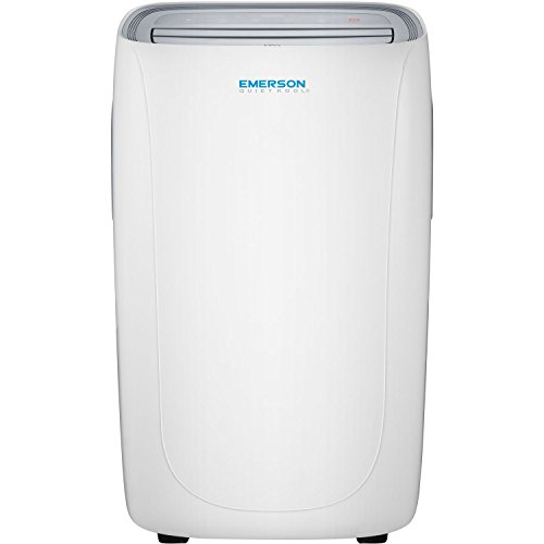 Emerson Quiet Kool Heat/Cool Portable Air Conditioner with Remote Control for Rooms up to 550-Sq. Ft, EAPE14RD1, 14000 BTU Standard, White