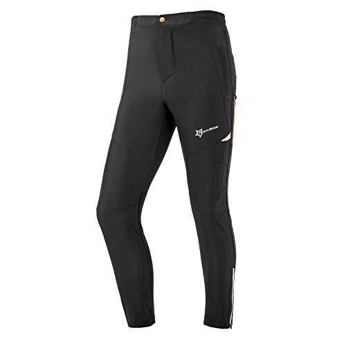 ROCKBROS Pantalones Largos Deportivos Transpirables para Ciclismo Running Bicicleta MTB Deportes al Aire Libre, Unisex (XXL)