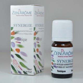 Zen'Arôme Synergie d'huiles essentielles Tonique 10ml pour diffuseur