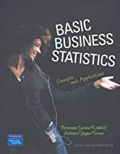 Basic Business Statistics: Concepts and Applications Aust Edition