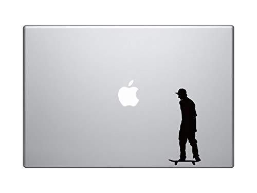 DKISEE Skateboard Trick #3- Skate Shop Art Flatland Rider Goofy - Macbook Vinyl Sticker Decal Macbook Laptop 8 inch