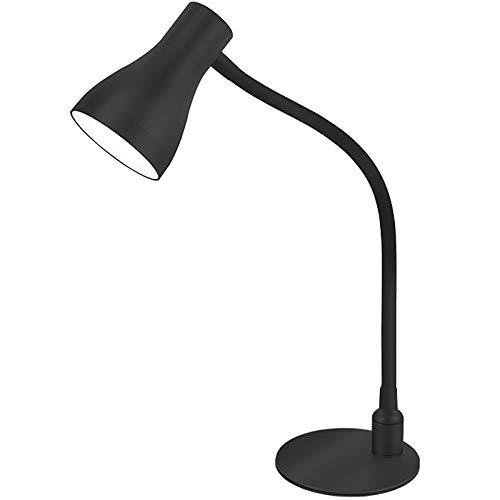Lámpara De Escritorio LED,Lámpara De Escritorio Con Protección Ocular Regulable, 3 Modos De Iluminación, Atenuación Continua, USB Puerto,Para Estudio/Trabajo/Hogar/Oficina