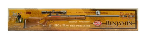 Benjamin Trail NP XL 1100 Break Barrel Air Rifle (.22) powered by Nitro Piston